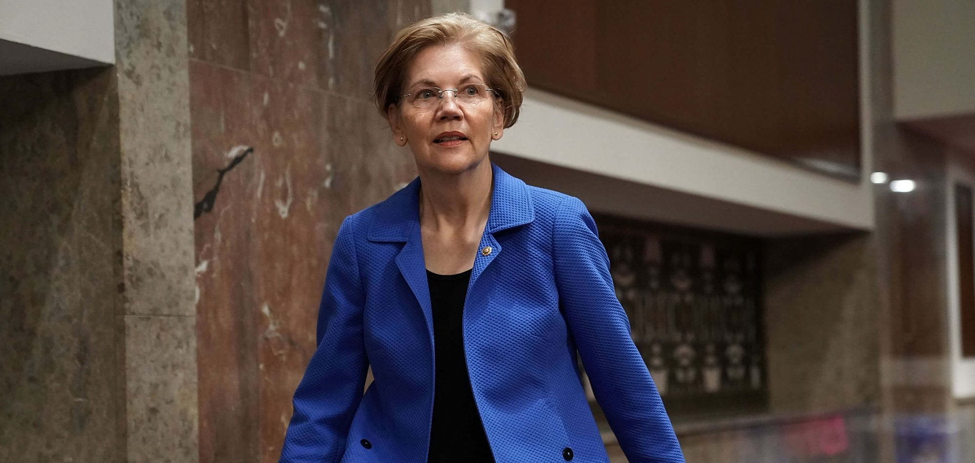 "5 Things To Know About Elizabeth Warren's Plan To Break Up ""Big Tech"""