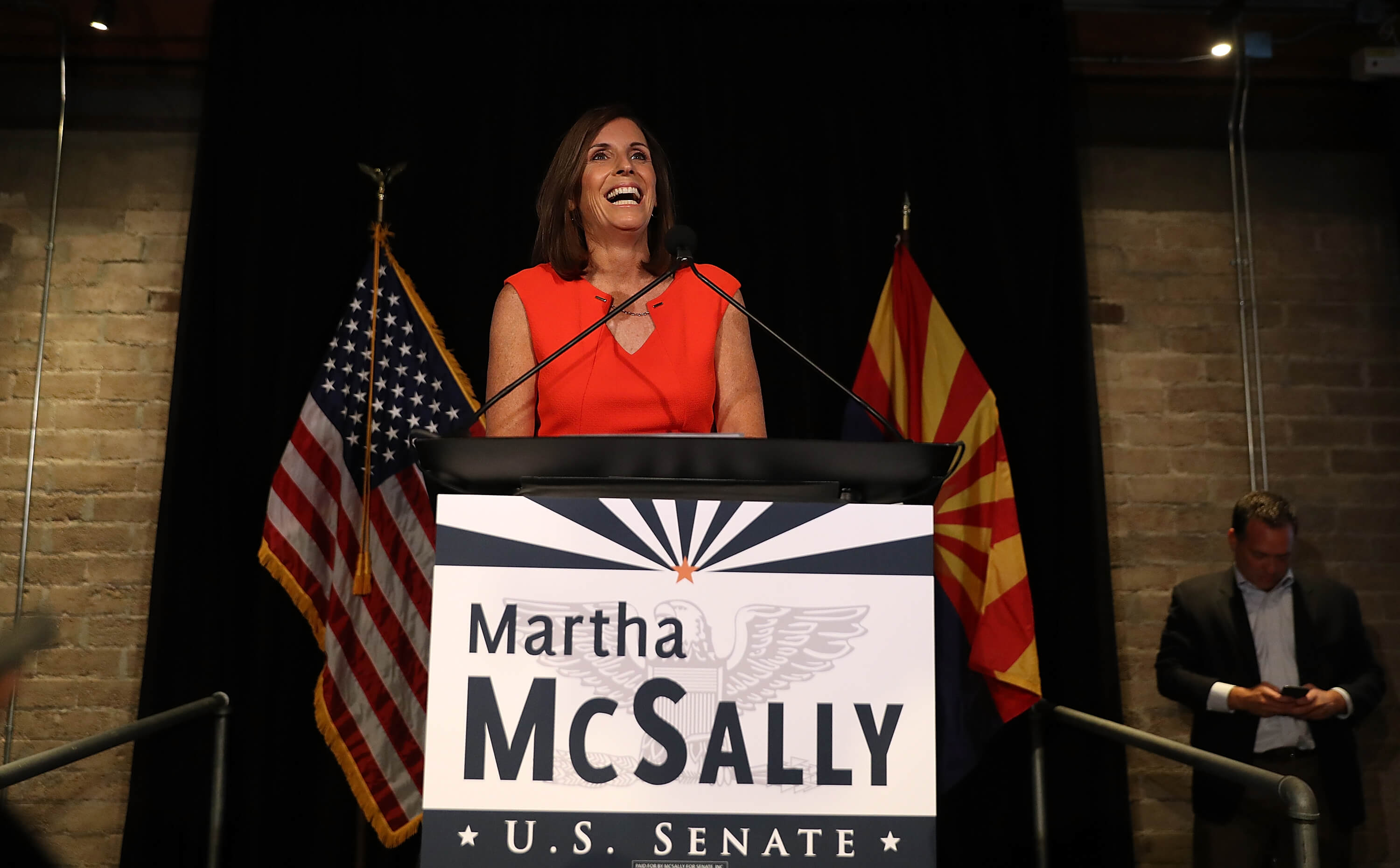 Martha McSally Primary Win